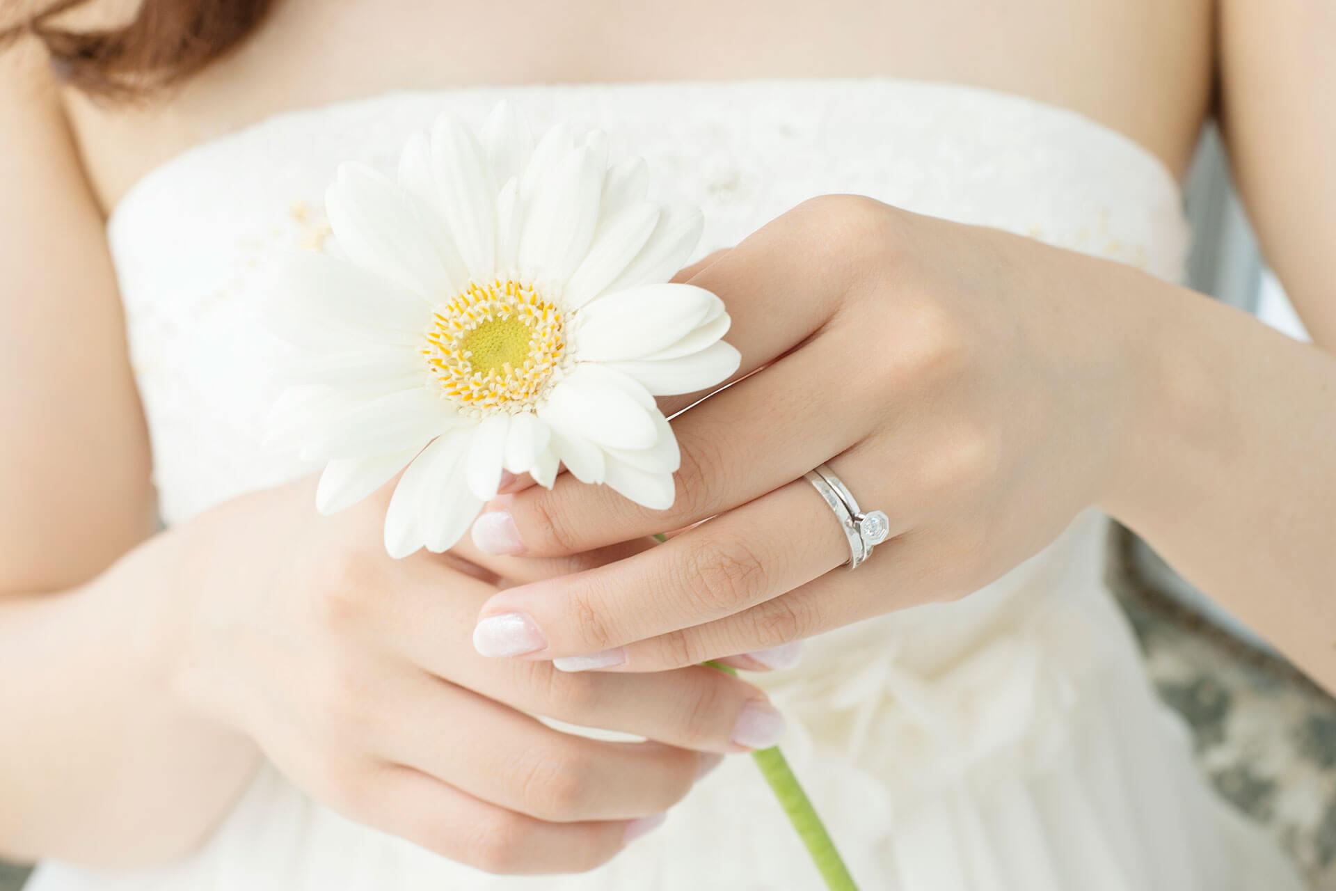 指輪 指 結婚 はめる